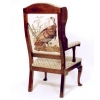 Moravian Arm Chair, Back View