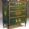 Chest: A Mahantongo Valley Paint-Decorated Chest of Drawers
