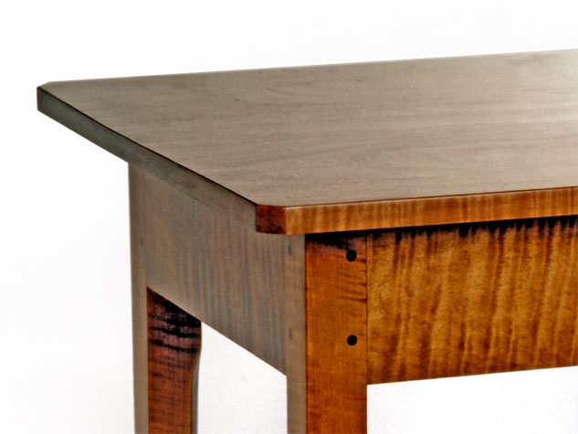 Federal Tiger Maple Side Table
