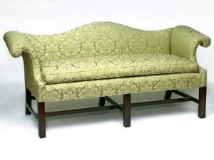 Chippendale Mahogany sofa-633
