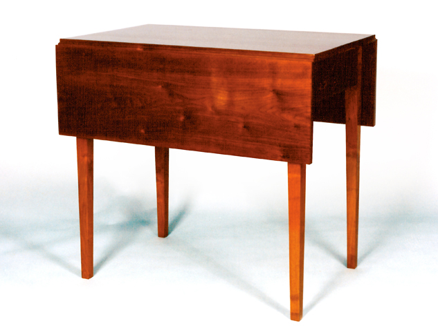 Hepplewhite Walnut Drop Leaf Table