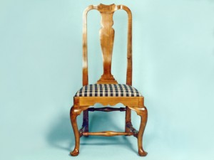 Queen Anne Maple Side Chair
