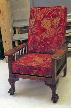 Marvelous Morris Style Chair