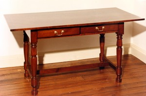 Two-drawer Federal Cherry Table