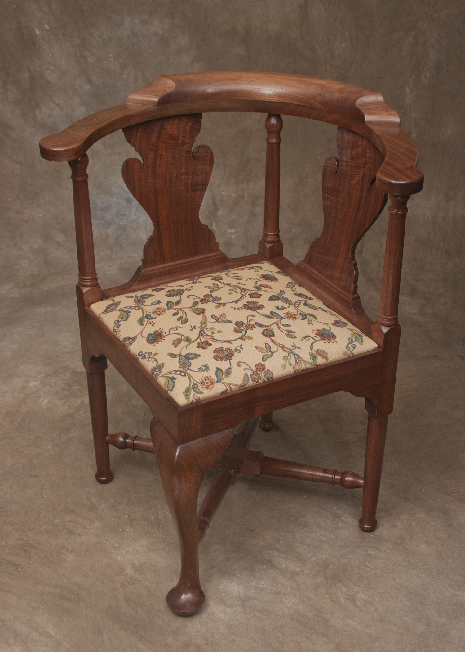 Queen Anne Bedroom Suite Custom Work Frank B Rhodes Furniture Chestertown Md