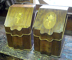 19th Century Knife Boxes Photo