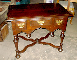 Walnut Dressing Table Photo