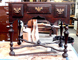 Walnut Dressing Table Photo