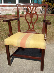 Chippendale Carved Armchair Photo