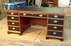 Office Desk Restoration Photo