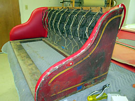 Studebaker Fire Truck Seat Photos
