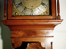 John Wood Tall Case Clock